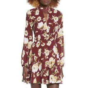 Lucca Couture Floral Print Dress, size S